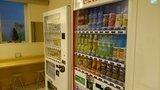 スーパーホテル東京日本橋三越前のロビーの自動販売機