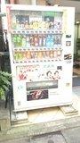 ホテルニュータウン秋葉原前にある自動販売機