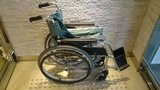 アパホテル秋葉原駅前の貸出用車椅子