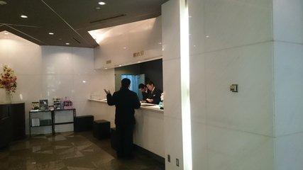 第一ホテルアネックスのフロント