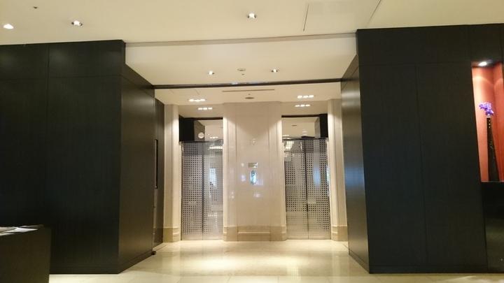 コートヤード・マリオット銀座東武ホテルのエレベーター
