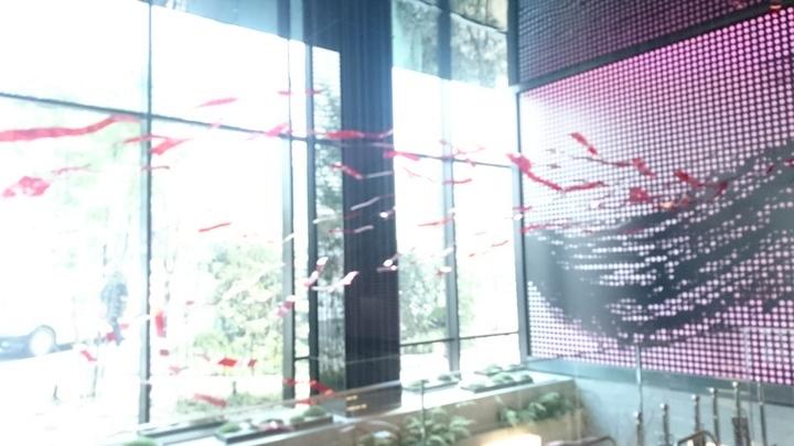 ミレニアム三井ガーデンホテル東京のロビーのデコレーション