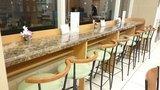 東横イン高崎駅西口1の1Fロビー兼食堂の一人様用椅子