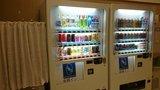 東横イン高崎駅西口1の1Fロビー兼食堂の自動販売機