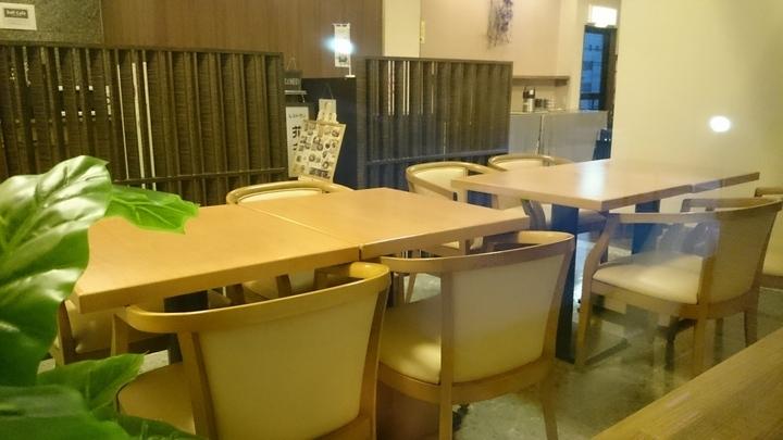 ホテルルートイン高崎駅西口の1F食堂