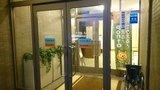 ホテルルートイン高崎駅西口の入口