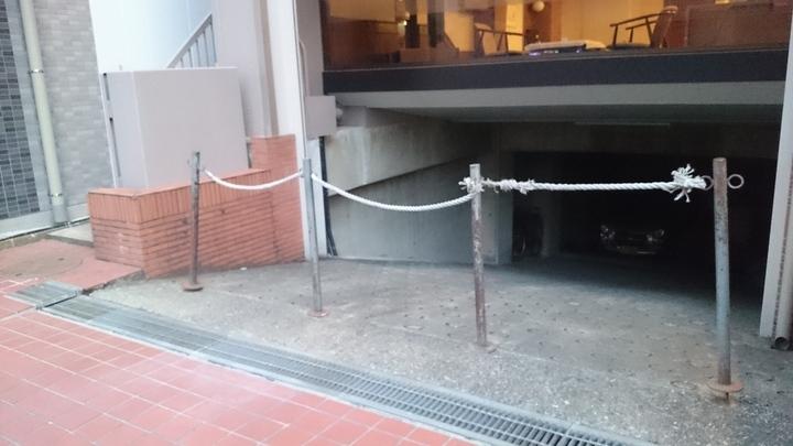 ホテルサンコー高崎の駐車場