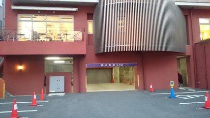 ホテル1ー2ー3高崎の駐車場
