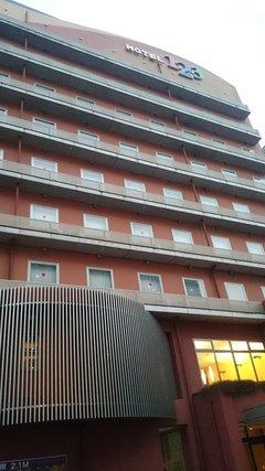 ホテル1ー2ー3高崎の外観