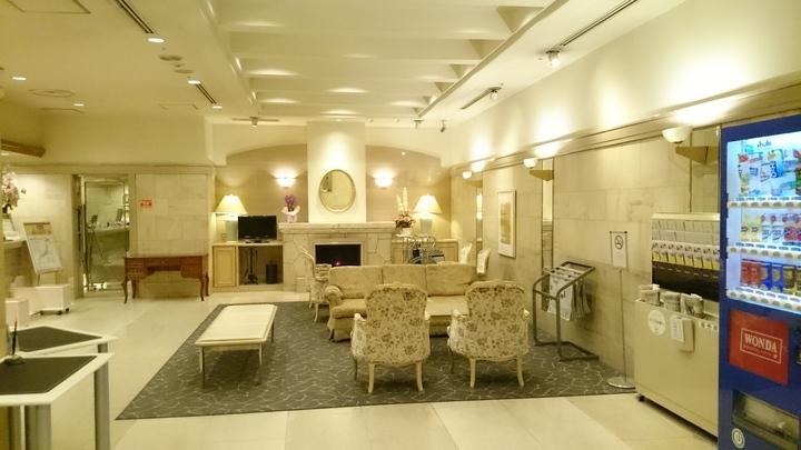 高崎ワシントンホテルプラザの1Fロビー