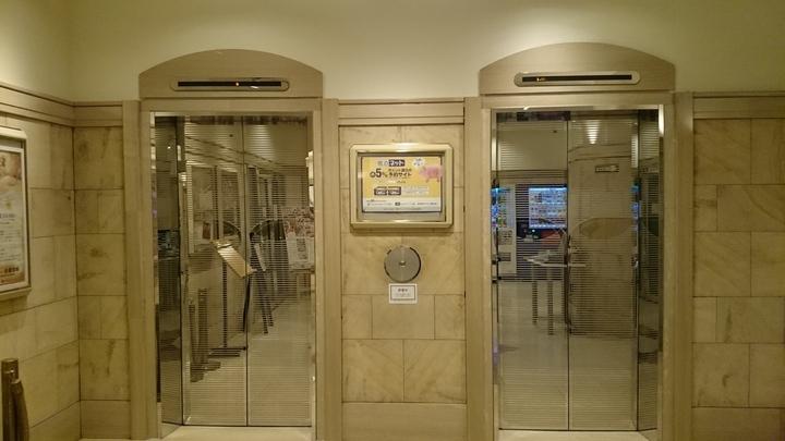 高崎ワシントンホテルプラザのエレベーター