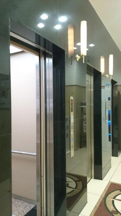 東横イン高崎駅西口2のエレベーター