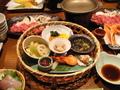 蟹にお肉・・・ボリューム満点の夕食♪