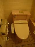 ピンクなトイレ