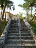 プールへの階段♪
