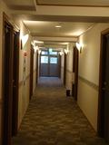 暑かった廊下
