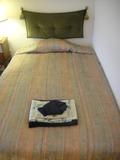 ベッドの寝心地は普通でした