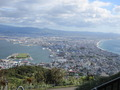 函館山からみた函館市