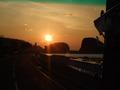 オホーツクの夕陽