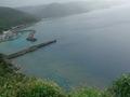 高台から見た沖縄の海