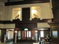 ホテルロビー入口