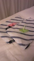 ベッドに折り鶴が