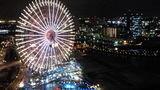 横浜の大観覧車が目の前に!!!
