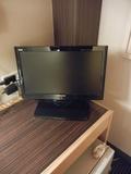 客室内の薄型テレビ
