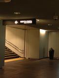 地下道からの入り口