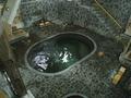 藤三旅館の立って入る温泉