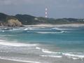ロケット発射場と種子島の良い波