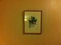 部屋に掛かっている絵画