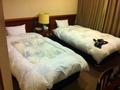 ツインルーム ベッド