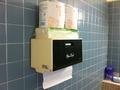洗面所の紙タオル