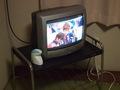 部屋のテレビ