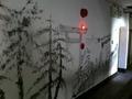 二階の壁画