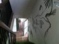 階段の壁画