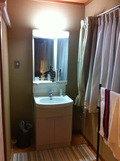 男性用ドミトリー和室洗面台