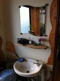 キッチンにある洗面台