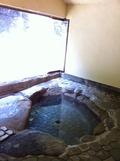 河原温泉の半露天風呂