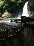 河原の湯入り口の案内板