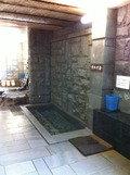 天城の岩風呂 水風呂