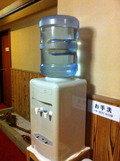 浴場前の飲料水