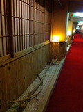 1階客室前廊下