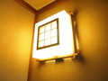 部屋外部(廊下)の照明
