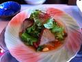 稲取金目鯛のサラダ