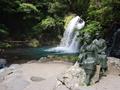初景滝と伊豆の踊子像