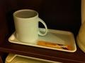 お茶とカップ