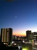 窓の外(夜)