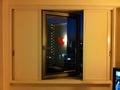 部屋の窓(開放時)